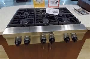 exceptional Kitchen Aid Gas Range #1: kitchenaid-rangetop-gas.jpg