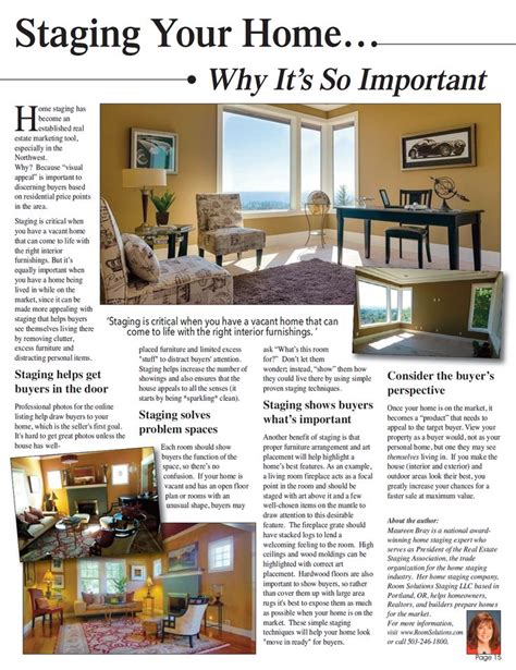 home staging magazine 136 best home staging portland images on