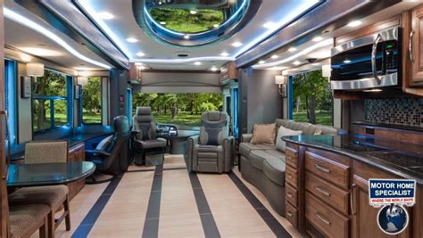 living on one dollar trailer 2014 foretravel ih45 luxury rv review at mhsrv com youtube
