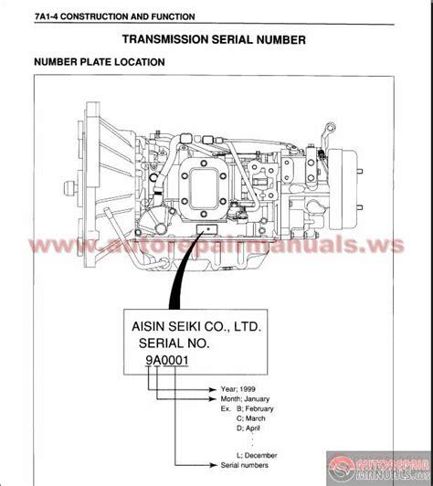 small engine repair manuals free download 2006 gmc savana windshield wipe isuzu n series automatic transmission 450 43le workshop