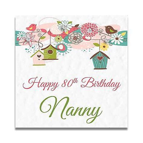 Handmade 70th Birthday Cards - handmade personalised nanny nan 50th