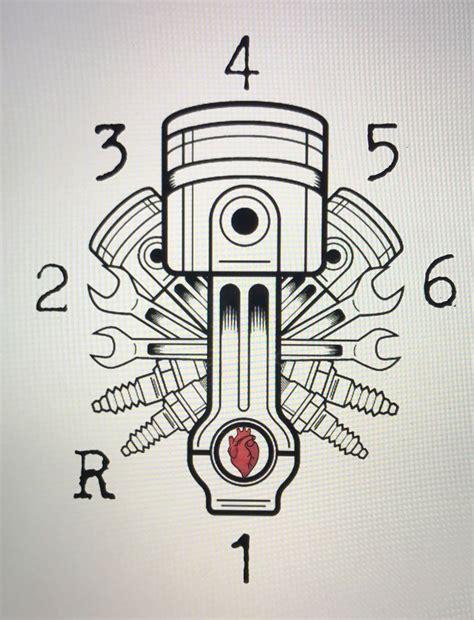 que es shift pattern en español les 25 meilleures id 233 es de la cat 233 gorie tatouage motocross
