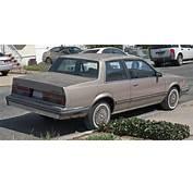 1984 Chevrolet Celebrity Coup&233 Rearjpg  Wikimedia