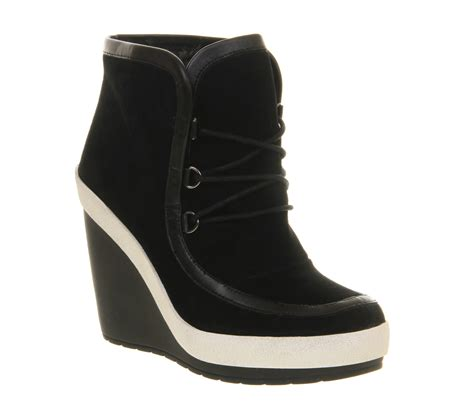 united boots lyst united ankle boots in black