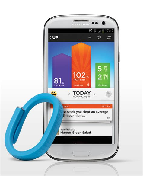 fitness tracker app for android jawbone takes next step in fitness tracking race launches up for android goode