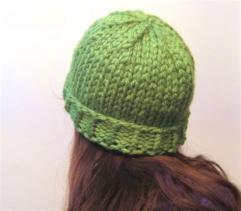 simple pattern for knitted beanie megan e sass handknits free knitting pattern easy chunky