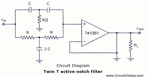 filter capacitor symbol t active notch filter electrical engineering stack exchange