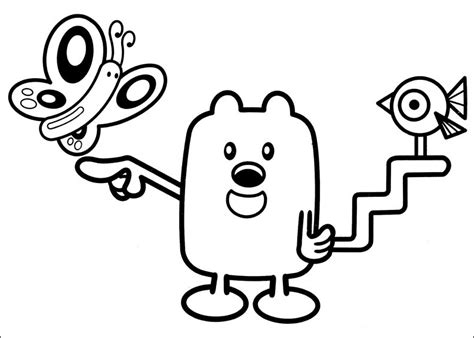 fun coloring pages wow wow wubbzy coloring pages