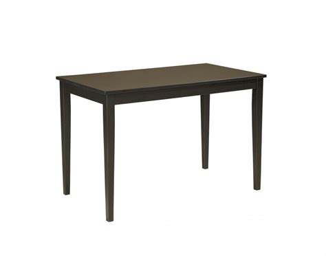 rectangle dining room tables kimonte rectangular dining room table d250 25 tables furniture