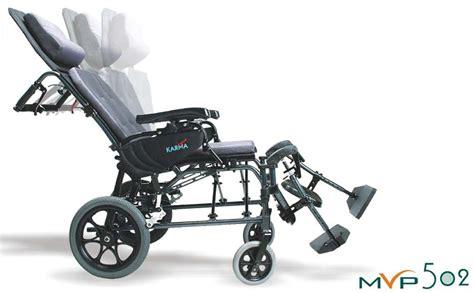 reclining wheelchair hcpc karman mvp 502 tp 34 lbs v seat reclining wheelchair