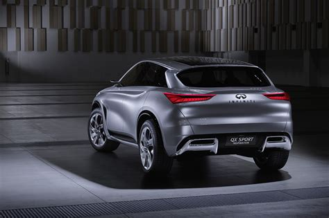 the who new infinity infiniti qx sport concept inspires successor to qx70