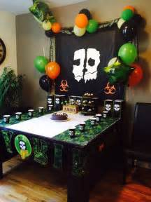 call of duty birthday party decorations