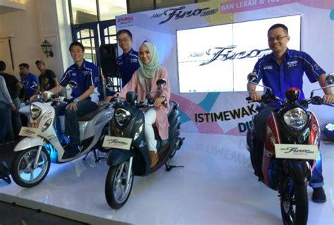 Yamaha New Fino 125 Premium yamaha new fino 125 2018 ban tubeless ada tipe sporty