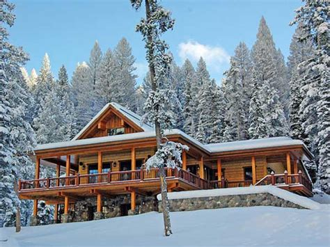 luxury log cabin for sale