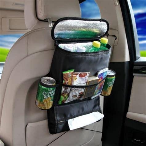 Back Car Seat Organizer Black car back seat organizer cooler bag black keeps your car