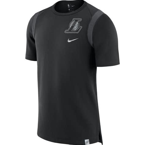 Tshirt Los Angeles La Black t shirt nike los angeles lakers black anthracite