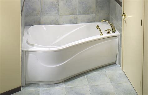 bathtub shapes corner soaking tub for small bathroom space with unique