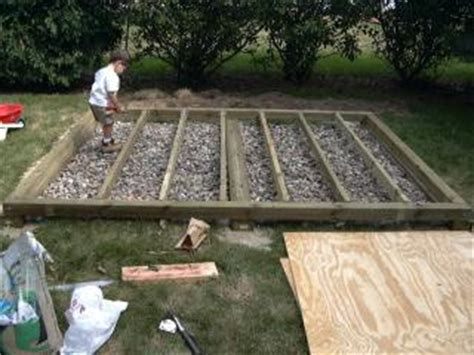 shed foundation outdoor shed foundationswhere