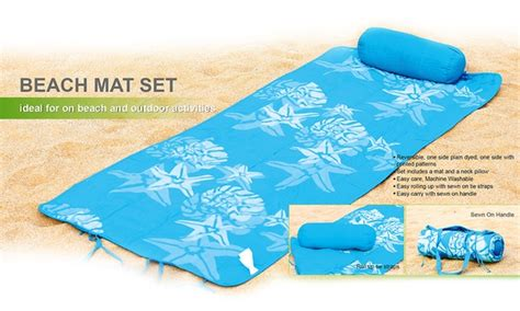 Roll Up Mat With Pillow by Roll Up Mat With Pillow Groupon Goods
