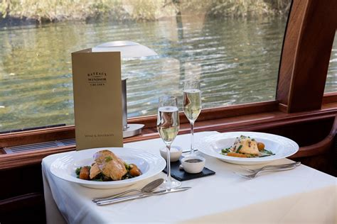 thames river cruise lunch menu bateaux windsor river thames lunch cruise for two