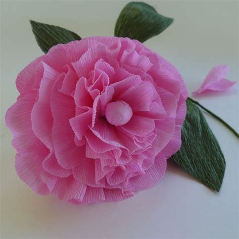 crepe paper flower pattern peony patterns for crepe paper flowers