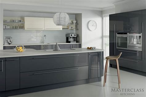 Grey Gloss Kitchen Cabinets by Grey Kitchens 5 Examples Of Kitchens In Subtle Shades Of