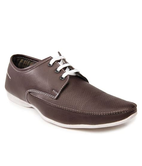 buy bacca bucci brown casual shoes for snapdeal
