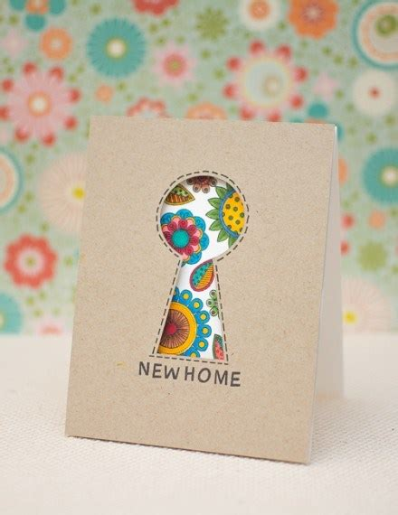 New Home Handmade Card Ideas - tutorial make your own greeting cards scrap booking