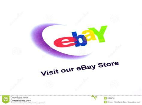 ebay store logo editorial stock photo image 17894763