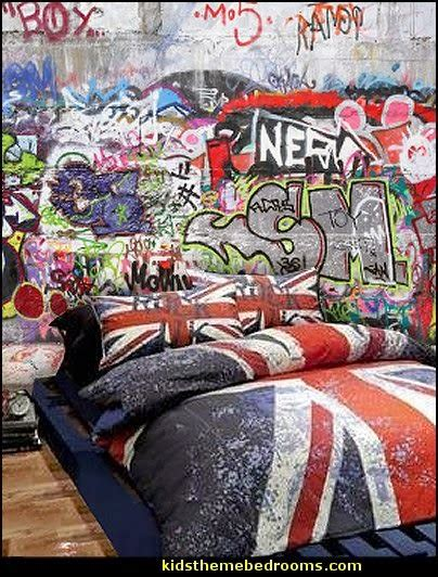 graffiti wallpaper bedroom decorating theme bedrooms maries manor september 2014