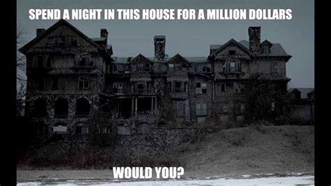 1 million dollar haunted house would you spend the in this haunted house