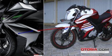 motor mio bunyi tek tek modifikasi motor dan mobil body kawasaki z250 jadi tren modif yamaha vixion merdeka com