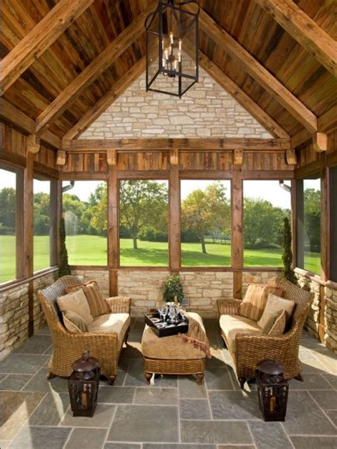 Cabin Porch by Log Cabin Porch Design Pictures Remodel Decor And Ideas