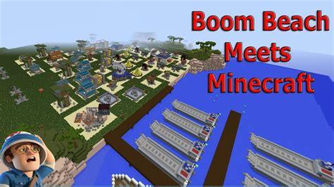 minecraft boom beach map amazing skilled builder