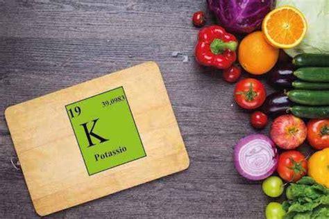 contenuto potassio alimenti potassio fabbisogno fonti alimentari e carenza my
