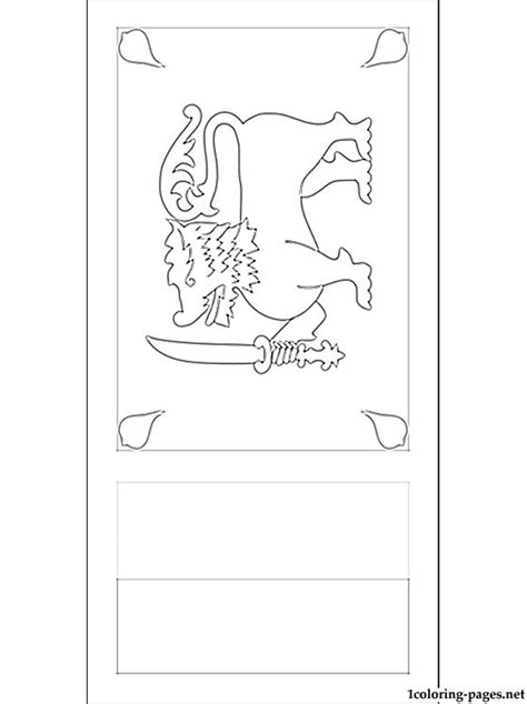 sri lanka flag coloring page coloring pages