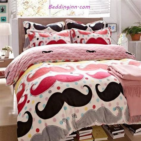Mustache Bedroom by Mustache Bed Set S Bedroom Ideas In