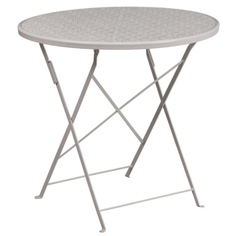 folding patio table steel folding patio table patio tables chairs