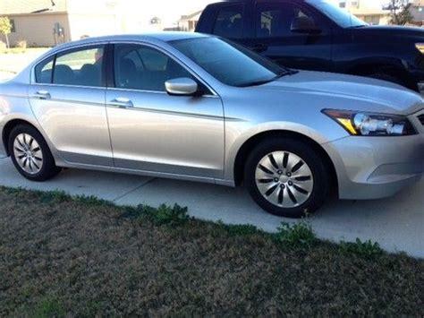 buy used certified 2010 silver honda accord lx sedan 4