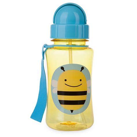 Water Bottle With Straw Animal Mixer wholesale bpa free straw type sweet animal print feeding cup non toxic water bottle