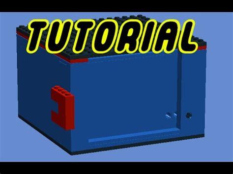 lego safe tutorial easy lego safe v2 tutorial youtube