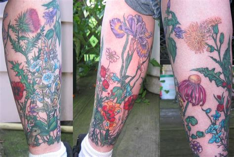 lower leg sleeve tattoo designs lower leg sleeve picture