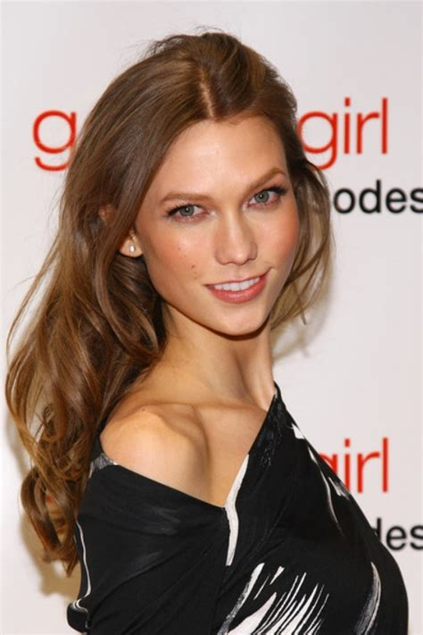 karlie kloss hair color karlie kloss honey brown hair color strands pinterest