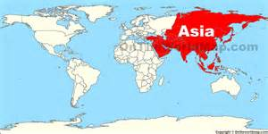 Where Is Asia On The Map gallery for gt where is asia located