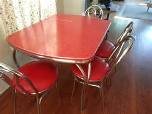 Vintage Formica Kitchen Table And Chairs Vintage Formica Kitchen Table And 4 Matching Chairs