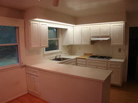 Kitchen Soffit Lighting Kenneth Mansley Remodeling Before And After Gallery