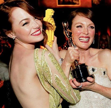 emma stone julianne moore emma stone and julianne moore how to get their oscars