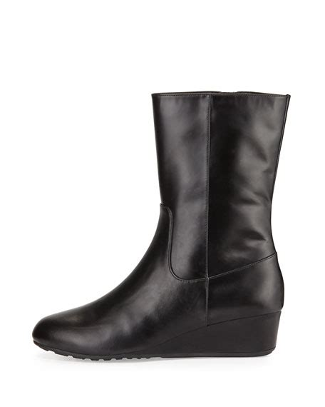 Boots Tali X cole haan tali grand o s leather boot black