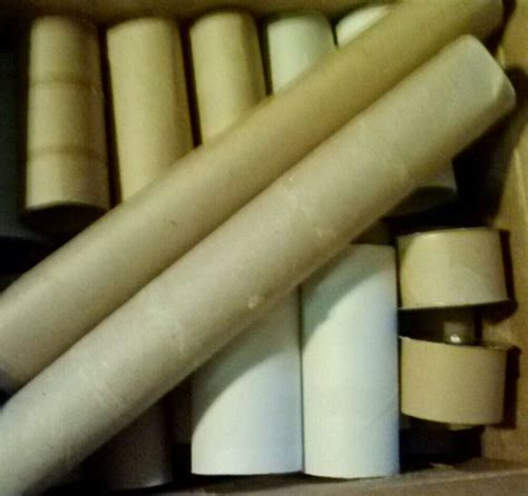 Empty Paper Towel Roll Crafts - 30 empty toilet paper rolls 2 towel rolls 2 ribbon rolls