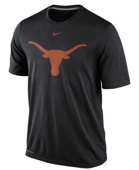 nike mens texas longhorns dri fit logo legend  shirt